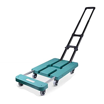 0fceaf4494dd Trolley Luggage Cart, Small Cart Pull Truck Fold Portable Trolley ...