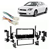 Fits Scion tC 2005-2010 Single DIN Aftermarket Harness Radio Install Dash Kit