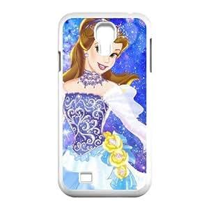 Samsung Galaxy S4 9500 White phone case Belle YYF4348515
