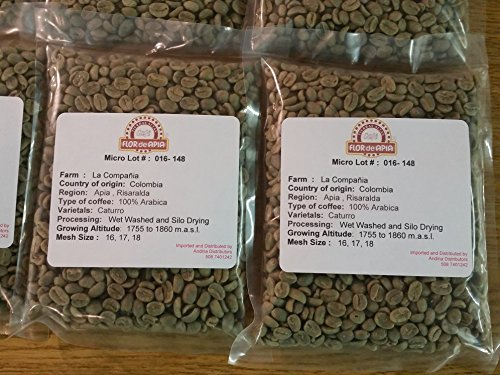 Unroasted Colombian Green Coffee Beans 5 Lb -Single Origin Farm - La Compañia