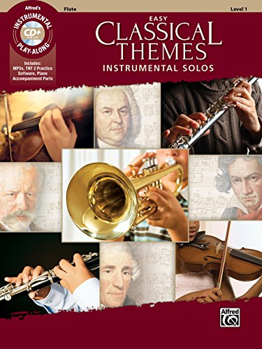 Easy Classical Themes Instrumental Solos: Flute, Book & CD (Instrumental Solos Series)