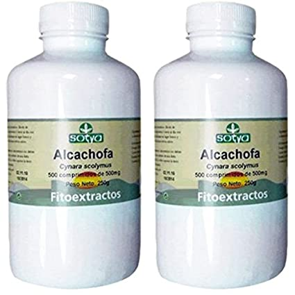 ALCACHOFA 500 mg. 2 x 500 Comp. SOTYA: Amazon.es: Salud y cuidado ...