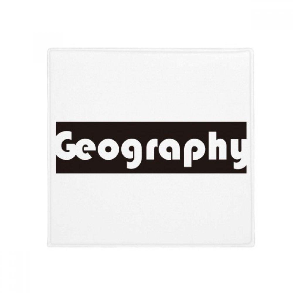 DIYthinker Course and Major Geography Black Anti-Slip Floor Pet Mat Square Home Kitchen Door 80Cm Gift