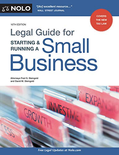 Legal Guide for Starting & Running a Small Business (Business Plan For Starting A New Business)