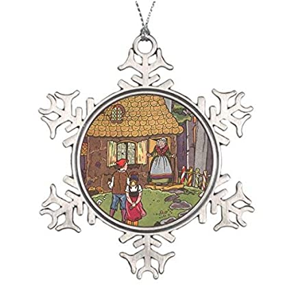 Special Christmas Ornaments.Amazon Com Xmas Trees Decorated Vintage Fairy Tale Hansel