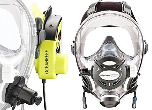 - Ocean Reef Neptune Space G. Divers Series Full Face Mask Kit (Medium/Large, White)