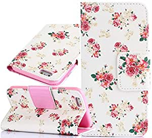 6 Plus Phone Case,iPhone 6 Plus Covers,Kaseberry Premium PU leather Book Wallet Case flip Cover with Credit Card for iPhone 6 5.5
