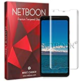 Premium Google Pixel 2 XL 3D Tempered Glass Ultra Slim Screen Protector Gorilla Glass Smooth Touch Full Edge to Edge Covered Screen Guard for Google Pixel 2 XL by NETBOON - Transparent