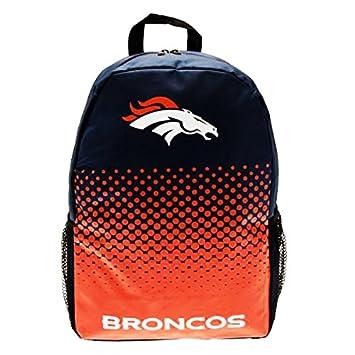 Oficial NFL fútbol americano ajustable mochila/mochila (varios equipos para elegir.), Denver Broncos, 40cm x 30cm x 14cm: Amazon.es: Deportes y aire libre