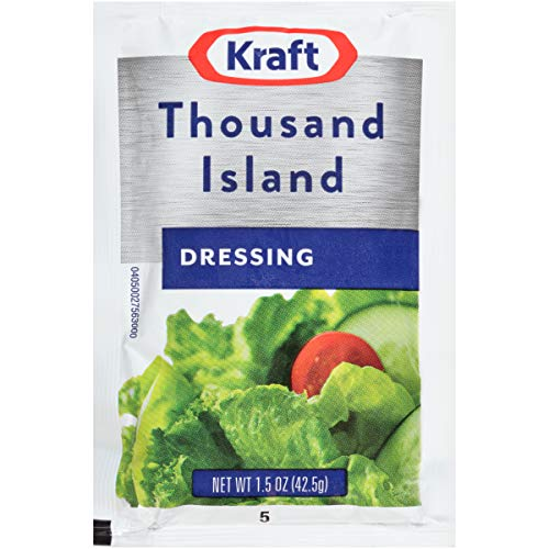 Kraft Thousand Island Dressing (1.5 oz Packets, Pack of 60)