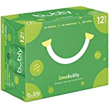 bubly Sparkling Water, Lime, 12 ounce Cans (Pack of 12)