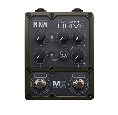 NKM Dynamic Overdrive Guitar Effects Pedal by MC Systems Apollo Series