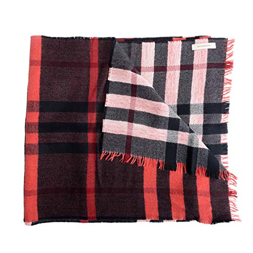 Burberry 100% Wool Multi-Color Checkered Women
