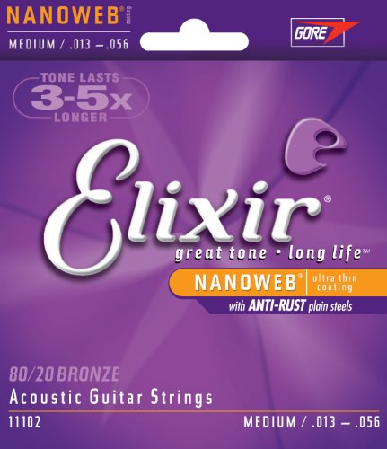 Elixir Strings Acoustic NANOWEB 013 056 product image