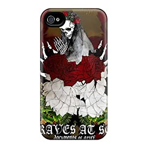 IanJoeyPatricia Iphone 4/4s High Quality Hard Phone Covers Unique Design Colorful Green Day Image [nVn9573YUHe]