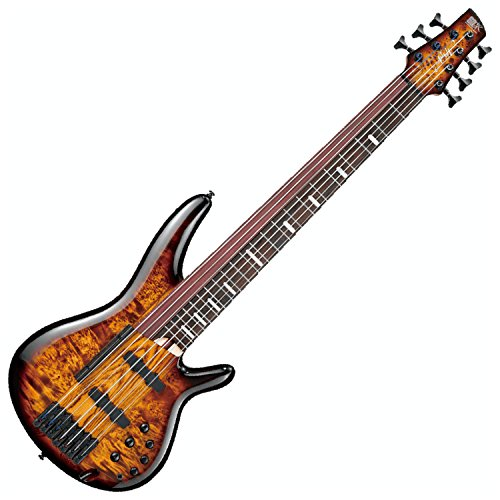 Ibanez SRAS7 7-String Electric Bass Guitar Dragon Eye Burst