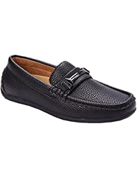 Franco Vanucci Youth Boy's Slip On Dress Loafers