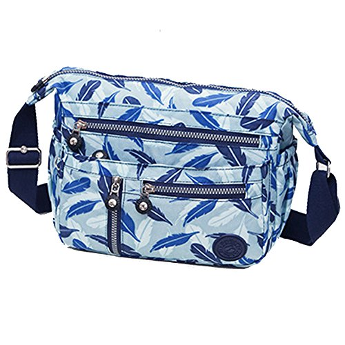 Women Muti and Travel Large Girls Ladies Resistant for Teen Lightweight or Purse Water Bag Crossbody Pockets Capacity EqROv
