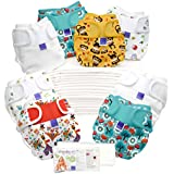Bambino Mio, Miosoft Cloth Diaper Birth to Potty Pack, Unisex