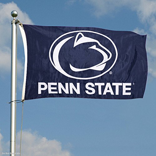Penn State Nittany Lions Embroidered and Stitched Nylon Flag