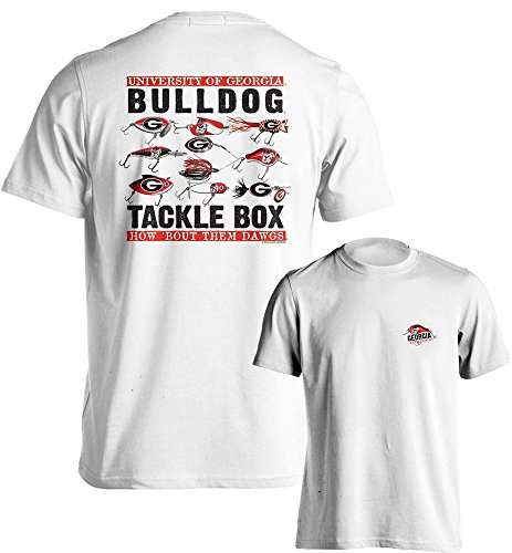 University of Georgia Bulldogs UGA Tackle Box T-Shirt Multiple Sizes (XL)