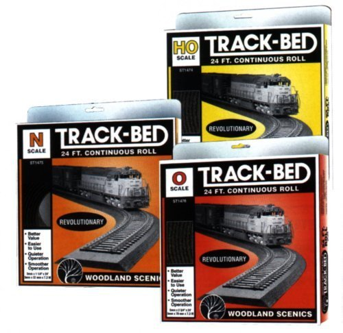 Ho Track Bed (Woodland Scenics HO Scale Track-Bed Roll)