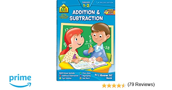 Workbooks-Addition and Subtraction Grades 1-2: Barbara Bando, Ph.D ...