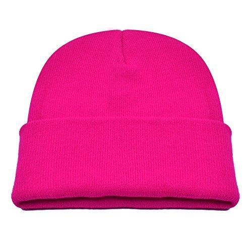 (PZLE Winter Hat Pink Beanie Hat Winter Rose Hat Men Winter Hat Beanie Caps Rose,One Size)