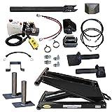 Hydraulic Hoist Kit- 16,000 lbs- Dump Trailer- 12V- Scissor Hoist Kit Complete.