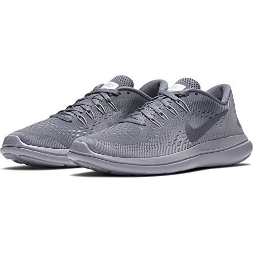 NIKE Women's Flex 2017 RN Running Shoe (9 B(M) US, Light Carbon/Light Carbon)