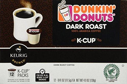 Dunkin Donuts K-cups Dark Roast - 192 K-cups by Dunkin' Donuts