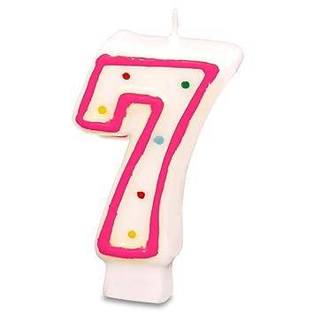 Cumpleaños vela para tartas Vela Número Números