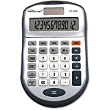 Compucessory 22088 12 Digit Desktop Calcultor Dark Gray