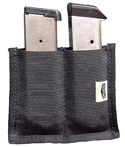 Amazon Com Stealth Velcro Double Clip Pouch Magazine Holder Gun