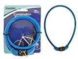 Combination Cable Bike Lock Length: 23.6'' Long , Case of 96