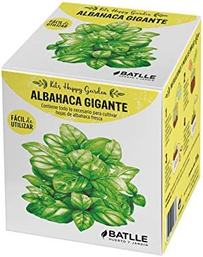 Huerto Urbano - Kit Happy Garden Albahaca Gigante - Batlle: Amazon ...