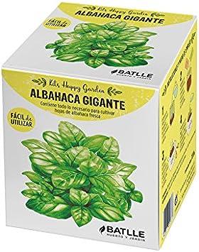 Huerto Urbano - Kit Happy Garden Albahaca Gigante - Batlle: Amazon ...