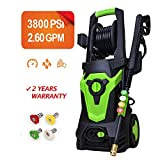 Best Electric Power Washers - Titans 3800 PSI 2.60 GPM Electric Pressure Washer,Power Review
