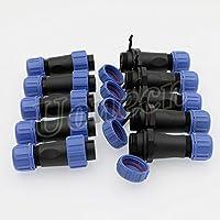 Weipu SP13 IP68 Waterproof 3-Pin Power Plug Connector 5 pcs ircular Kit Male Plug Female Socket 3-Pin LED High Power Connectors