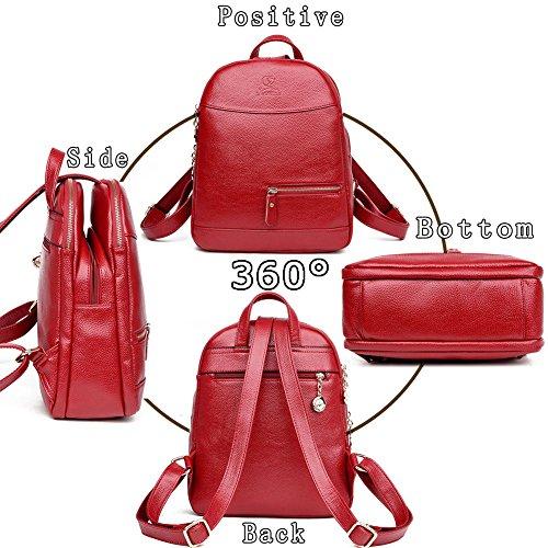 G-AVERIL - Bolso mochila  para mujer negro negro azul