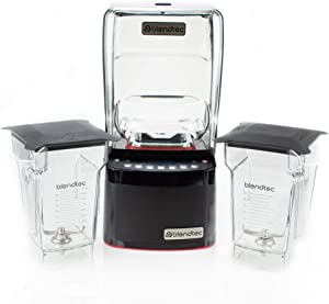 Blendtec Commercial Stealth 885 Blender with Brushless Motor + 2 FourSide Jars