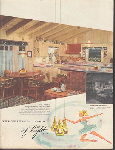Inspiration Lighting light lamp fixture indoor outdoor catalog 1950s from The Jumping Frog