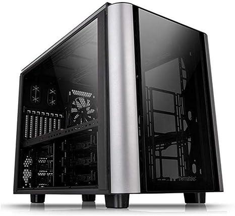 Thermaltake Level 20 XT PC-Case - Caja de Ordenador, Color Negro y Plata: Amazon.es: Informática