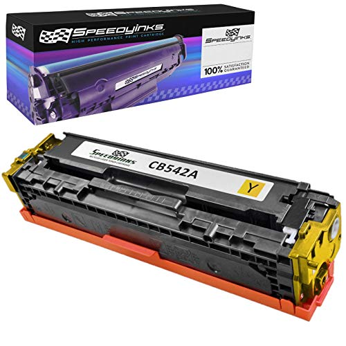 (Speedy Inks Remanufactured Toner Cartridge Replacement for HP 125A / CB542A (Yellow))