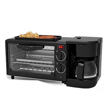 Shisky Máquina de desayunos multifunción de regalo tres en uno con tostadora máquina de café máquina