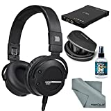 Beyerdynamic Custom Street Headphones (Black) with Amplifier, Cleaner, and FiberTique Cleaning Cloth Kit