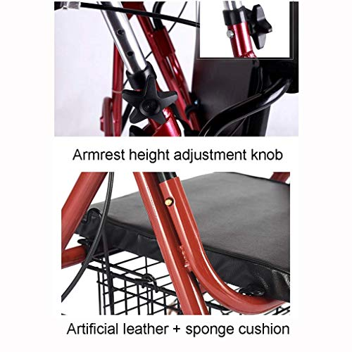 GLJY Robusto Andador de Aluminio para Personas Mayores y ...