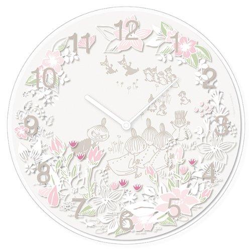 ピーオーエス POS ムーミンタイムピーシーズ Moomin Time Pieces 掛け時計 Little My chasing MTP-03-0010 B00HRJSKUO