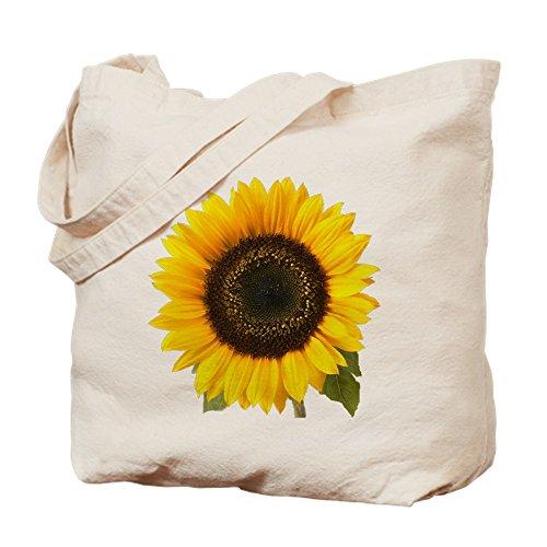 CafePress - Sunflower - Natural Canvas Tote Bag, Cloth Shopping Bag