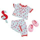 Our Generation Early Bird Pajamas Outfit 18 Doll Clothes PJs